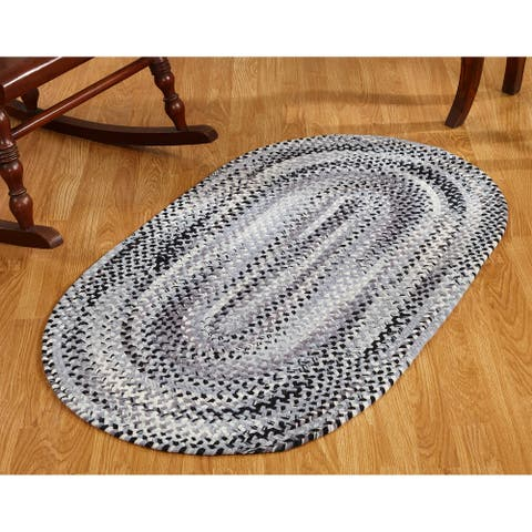 Ombre Chenille Braided Rugs