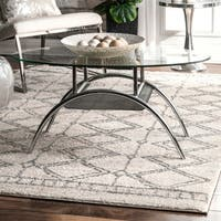 The Gray Barn Willow Branch Moroccan Tribal Tile Trellis Area Rug