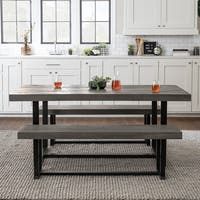 3-Piece Distressed Dining Set