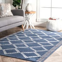 The Curated Nomad Kahlo Contemporary Abstract Aztec Dot Moroccan Area Rug