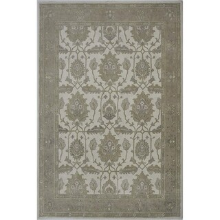 "Livingston Home LHKhazar Wool Tufted Area Rug (Eco Multi, 8""x10"") - 8""x10"""