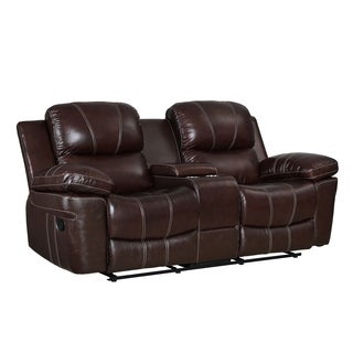 Shop Clemmy Transitional Brown Recliner Sofa By Foa On