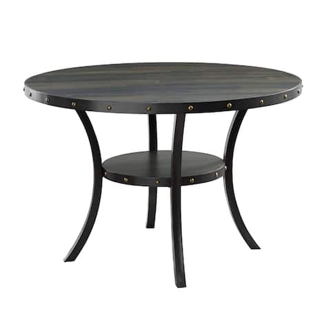 Crispin Smoke 48-inch Round Dining Table