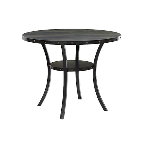 Crispin Smoke 48-inch Round Counter Table