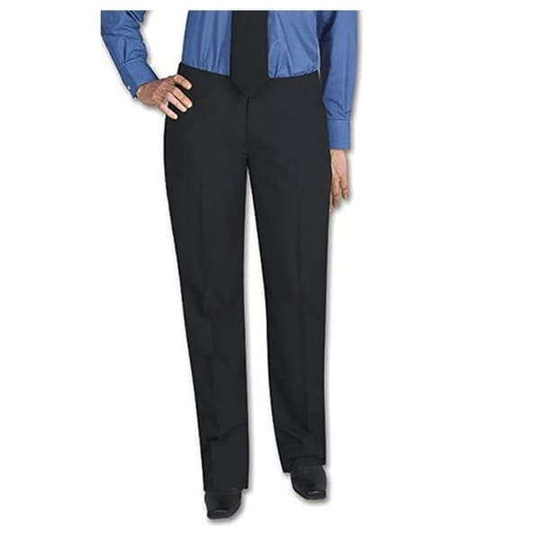 Henry Segal Women's Tuxedo Pants Flat Front Low Rise with Satin Stripe. Opens flyout.