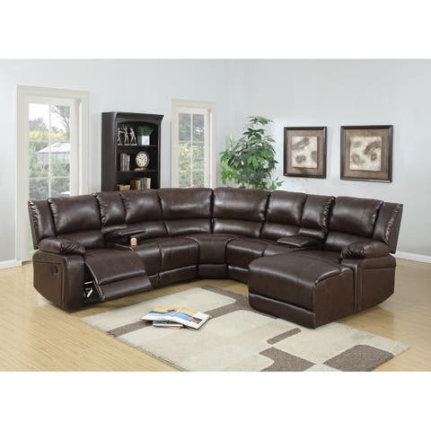 Buy Reclining Sectional Sofas Online at Overstock | Our Best Living ...