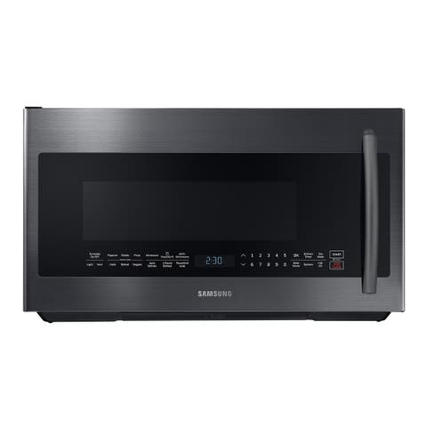 Samsung 2.1 cu. ft. Over The Range Microwave with PowerGrill and Ceramic Enamel Interior