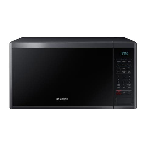 Samsung 1.4 cu.ft. Countertop Microwave (Black Stainless Steel)