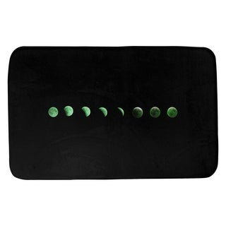 Katelyn Smith Moon Phases in Gree Bath Mat