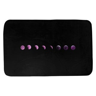 Katelyn Smith Moon Phases in Purple Bath Mat