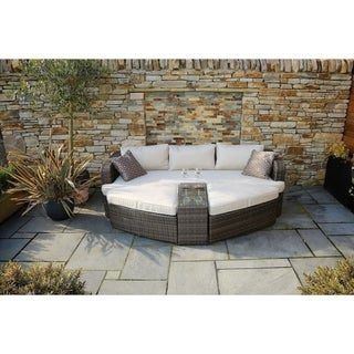 Outdoor Daybed Sofa Rattan Garden Furniture by Moda Furnishings