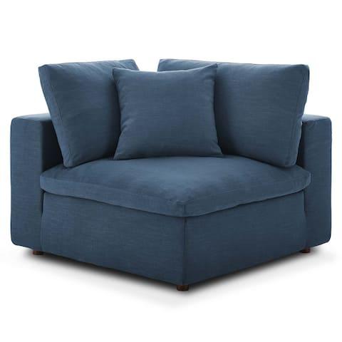 Copper Grove Hrazdan Down-filled Over-stuffed Corner Chair