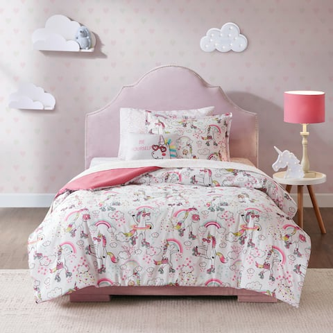 Mi Zone Kids Katie White Complete Bed and Sheet Set