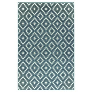 Liora Manne Riviera Nested Diamonds Outdoor Rug