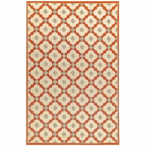 Liora Manne RivieraModern Tile Outdoor Rug