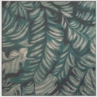 Porch & Den Shore Leaf Pattern Outdoor Rug