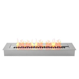 "Regal Flame Pro 24"" Ventless Bio Ethanol Fireplace Burner Insert - 4.8 Liter"