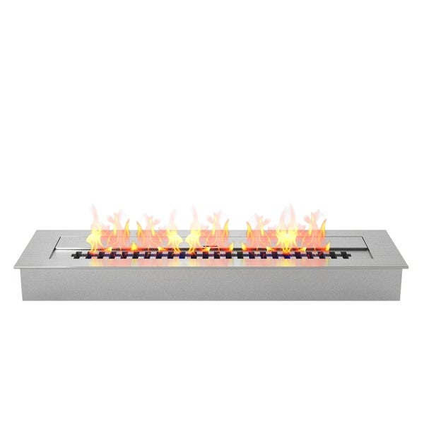 "Regal Flame Pro 24"" Ventless Bio Ethanol Fireplace Burner Insert - 4.8 Liter"