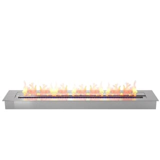 "Regal Flame Pro 36"" Ventless Bio Ethanol Fireplace Burner Insert - 7.4 Liter"