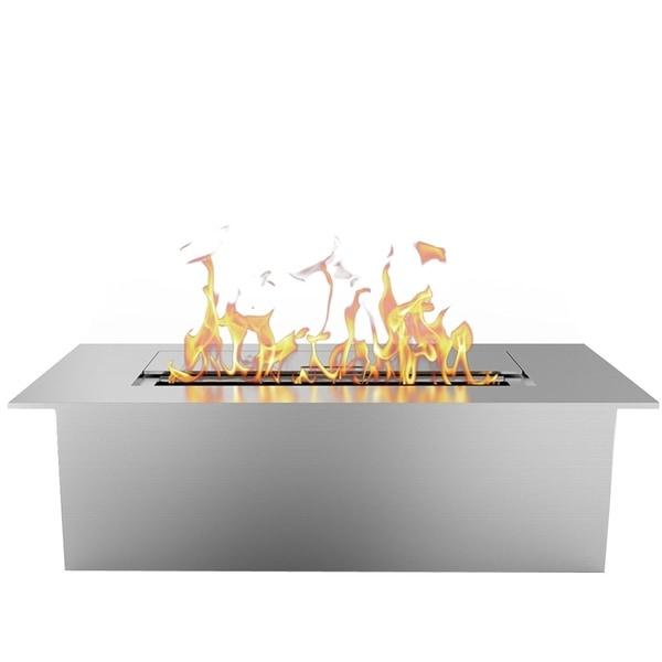 "Regal Flame Slim 12"" Bio Ethanol Fireplace Burner Insert - 1.5 Liter"