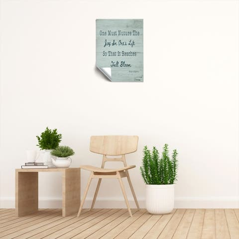 "Maya Angelou ""Nurture ll"" Removable Wall Art Mural"