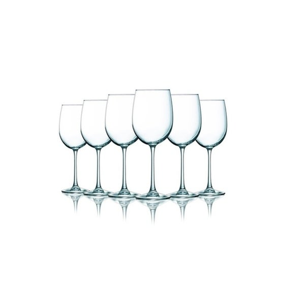 Clear Wine Glasses - 19 oz. Additional Vibrant Colors Available