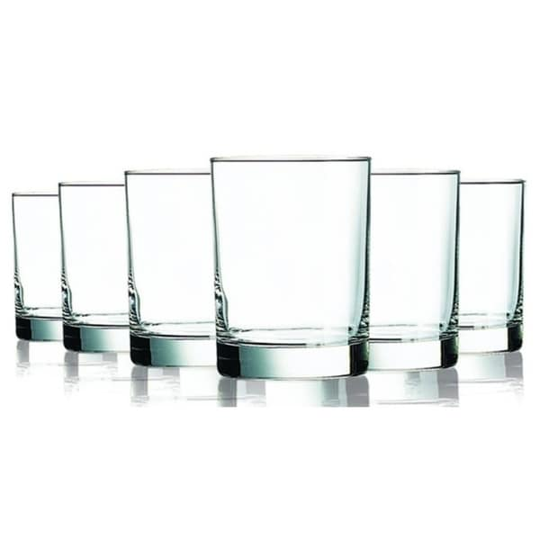Clear Beverage Aristocrat Double Old Fashioned Glasses - 14 oz