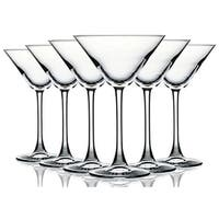 Clear Martini/Cocktail Glasses - 10 oz. Additional Vibrant Colors Available