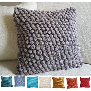 "Orbit Ball 18"" Cotton Decorative Pillow"