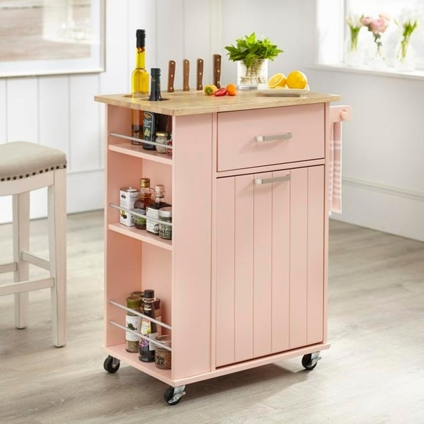 Simple Living Lima Kitchen Cart by Simple Living