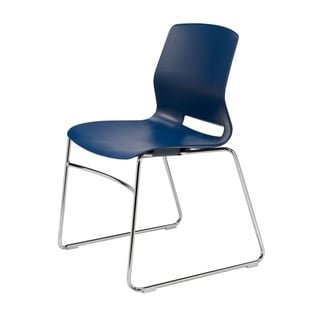 Olio Designs Lola Sled-Base Office Stack Chair