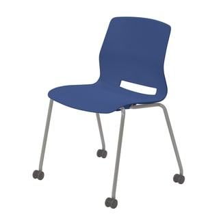 Olio Designs Lola Armless Stack Chair with Casters