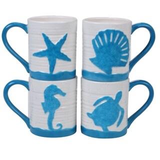 Link to Certified International Natural Coast Mugs, Set of 4 Similar Items in Dinnerware