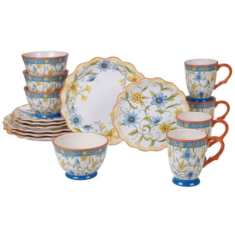 Certified International Torino 16-piece Dinnerware