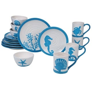 Certified International Natural Coast 16-piece Dinnerware