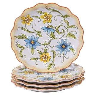 Certified International Torino Dessert Plates, Set of 4