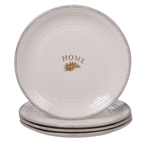 Certified International Gather Dinner Plates, Set of 4