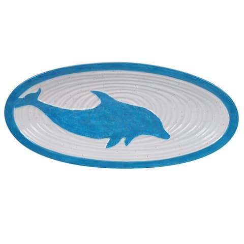 Certified International Natural Coast Oval Fish Platter