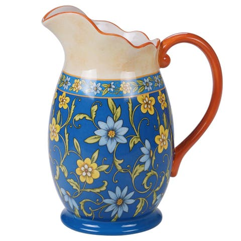Certified International Torino 2.25 Quart Pitcher