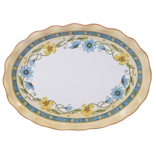 Certified International Torino Oval Platter