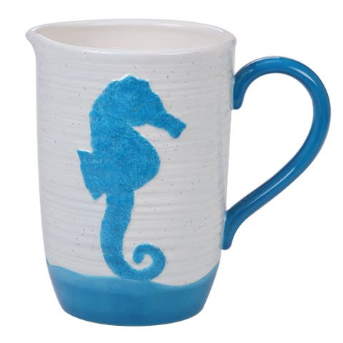 Certified International Natural Coast 3.0 Quart Pitcher