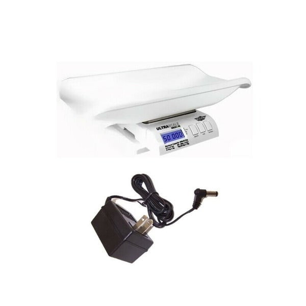 My Weigh Ultrascale Baby MBSC-55 Digital Baby Scale with Power Supply Adapter. Opens flyout.