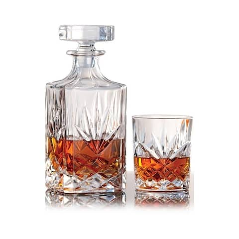 7 Piece Whiskey Decanter Set - Harvard