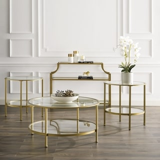 Aimee 4-Piece Set (1 Console, 1 Coffee, 2 Side Tables)