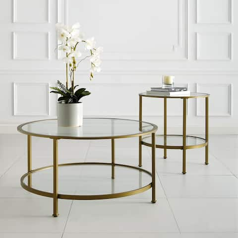 Aimee 2-Piece Set (1 Coffee Table, 1 End Table)