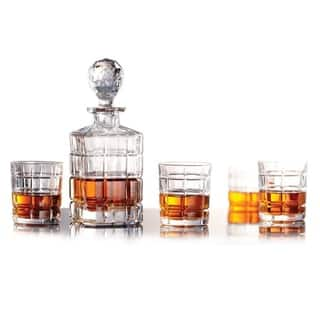 5 Piece Whiskey Decanter Set - Highland