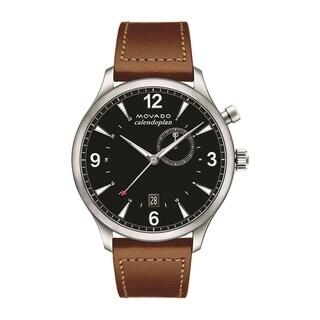 Movado 3650016 Men's Heritage Black Quartz Watch