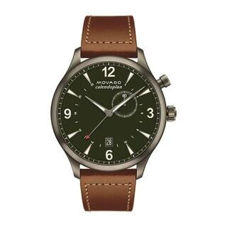 Movado 3650018 Men's Heritage Green Quartz Watch