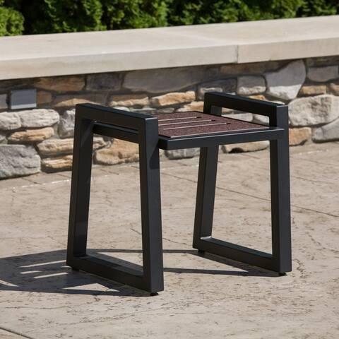 Elan Furniture Vero Outdoor End Table - 20W x 21D x 18H in.