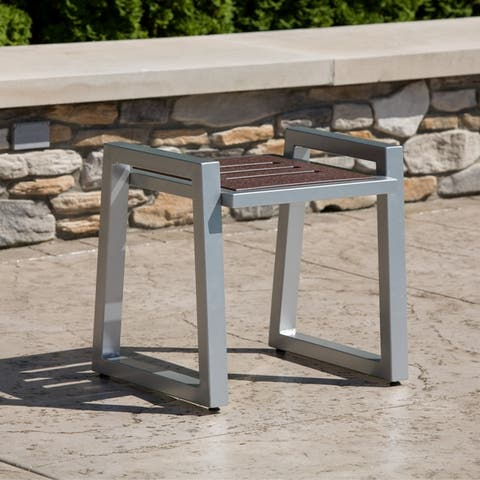 Elan Furniture Vero Outdoor End Table - 20W x 21D x 18H in.